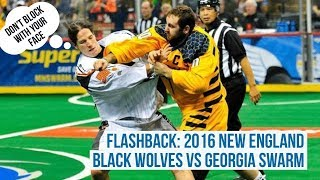Flashback: 2016 NE Black Wolves vs Georgia Swarm