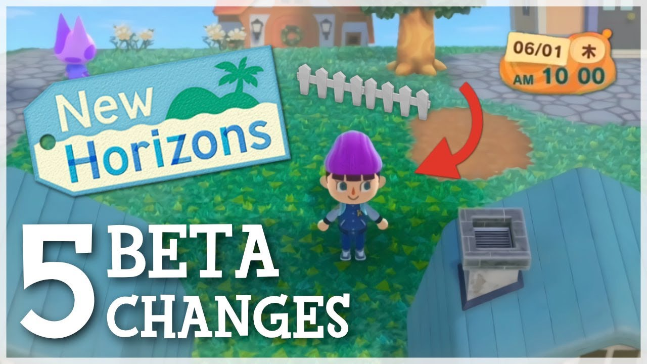 Animal Crossing New Horizons - 5 BETA CHANGES You Didn't Know! (Ft. @Mayor Mori)