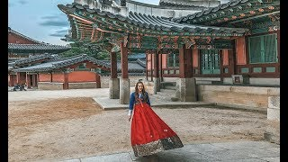 KOREA vlog #5 | Királylány lettem egy napra | Changdeokgung királyi palota | Óváros