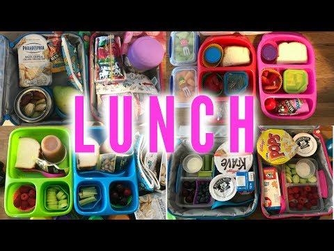 Kid's Lunch Ideas - Week 4 | Sarah Rae Vlogas |