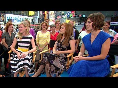 Kirsten Dunst, Isla Fisher, Lizzy Caplan Discuss New Movie 'Bachelorette'