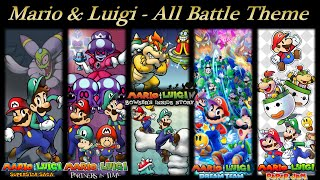 Mario & Luigi OST - All Battle Theme (Paper Jam)