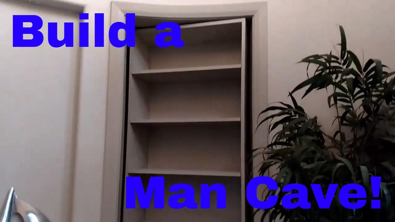 How to build a secret man cave door. Murphy door. DIY ...