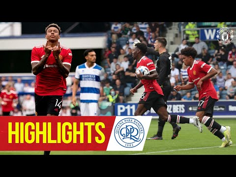 Download Highlights | QPR 4-2 Manchester United | Lingard & Elanga on target for the Reds | Pre-Season 2021