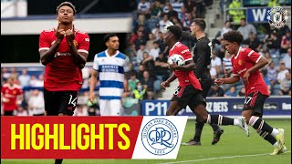 Highlights | QPR 4-2 Manchester United | Lingard & Elanga on target for the Reds