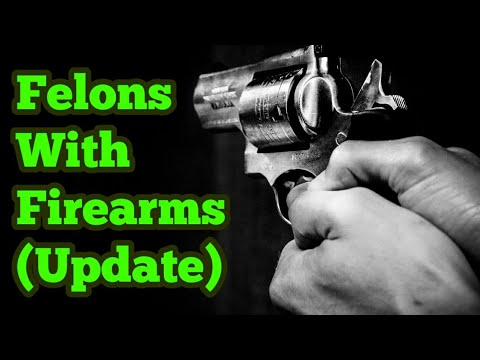 Can A Convicted Felon Have A Firearm? (Update To My First Video)