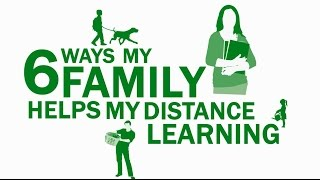 6 ways my family helps my distance learning