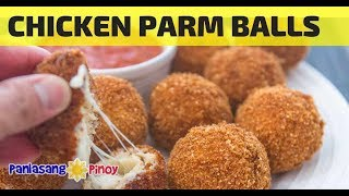 How to Cook Crispy Chicken Parm Ball with Homemade Marinara Sauce