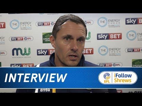 INTERVIEW | Paul Hurst post Scunthorpe - Town TV