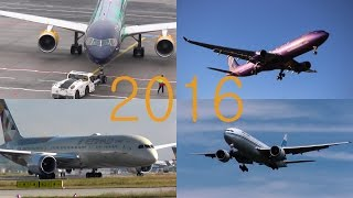 Planespotting 2016 - The BEST OF -