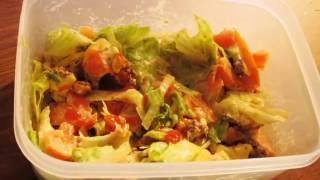"""Asmr - Eating In-n-out Protein Style """"salad"""" Hamburger"""