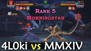 Alliance War: 4L0ki -vs- MMXIV | Medusa, Karnak, Black Bolt | Marvel Contest of Champions