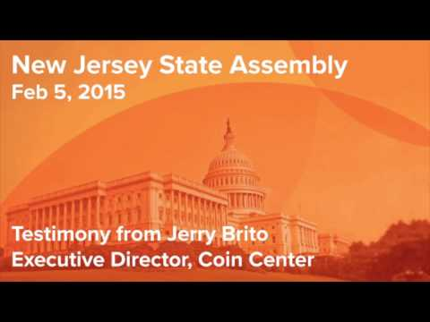 Coin Center 2015 Testimony in the NJ Assembly