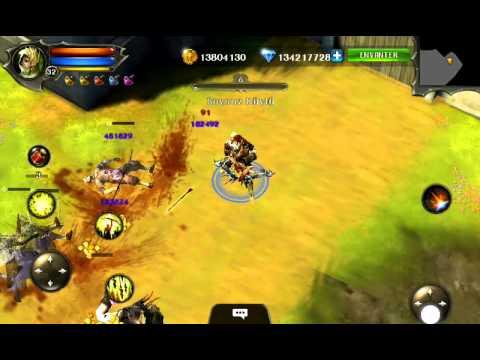 Dungeon Hunter 4 Hack + Gameplay