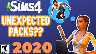 UNEXPECTED PACKS IN 2020? -SIMS 4 NEWS \u0026 SPECULATION