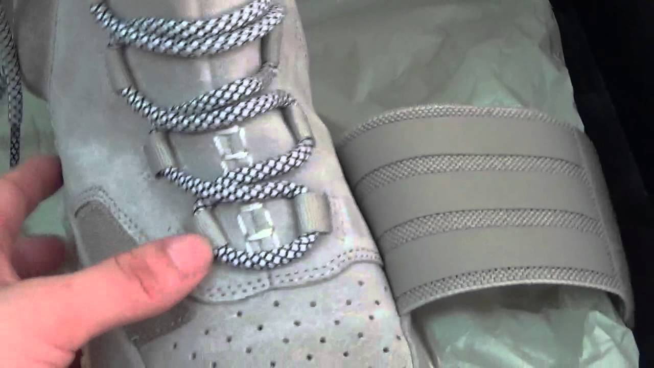 best website 2ce18 46262 How to spot fake adidas yeezy 750,authentic original adidas yeezy 750 boot  from repnicekicks.net - YouTube