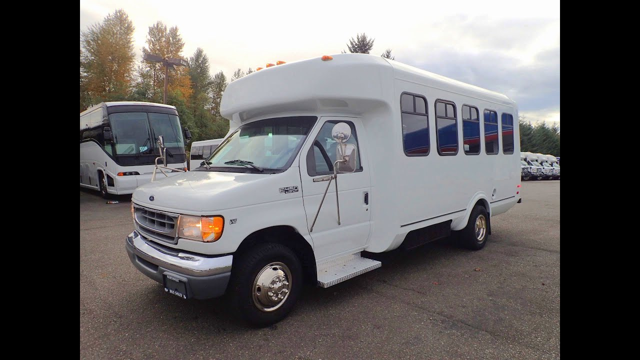 Northwest Bus Sales 1999 Ford Eldorado 13 Passenger And 1 Wheelchair Ada Shuttle - S88961