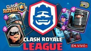 🔴 Utilizando los Mazos con mas Victorias del Desafío de la Clash Royale League