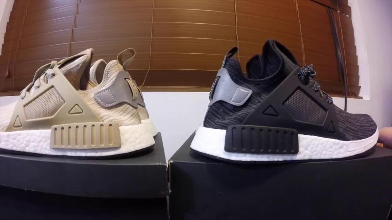 new arrival 08620 7ce78 Adidas XR1 Linen Black & Tan Quick Look Side By Side Both Colors S77194 &  S77195