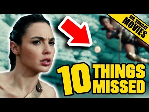 WONDER WOMAN Trailer 2 - Easter Eggs, Things Missed & DC's Future