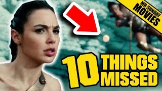 WONDER WOMAN Trailer 2 - Easter Eggs, Things Missed & DC's Future