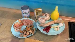 Рецепт Тайского супа Том Ка с креветками
