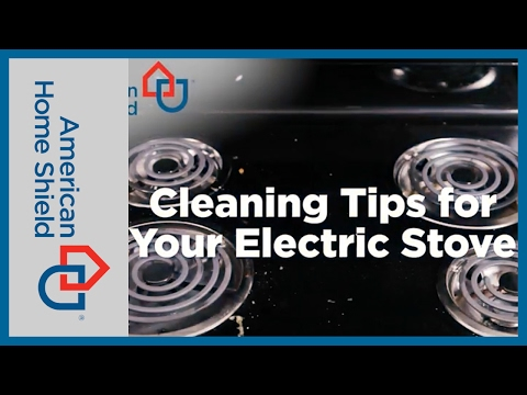 Home Hacks - How To Clean An Electric Stove - AHS