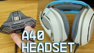 Review & Mic Test- Xbox One Astro A40 + Mixamp M80 Second Generation Gaming Headset