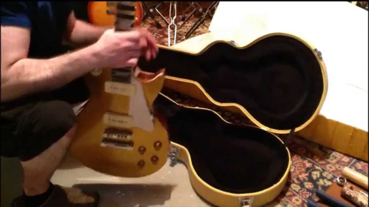 chinese gibson les paul chibson unboxing video 4 goldtop youtube. Black Bedroom Furniture Sets. Home Design Ideas