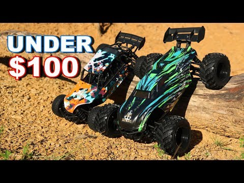 Fast RC Cars Under $100 On Amazon - HAIBOXING 4WD Buggy And Truggy - TheRcSaylors