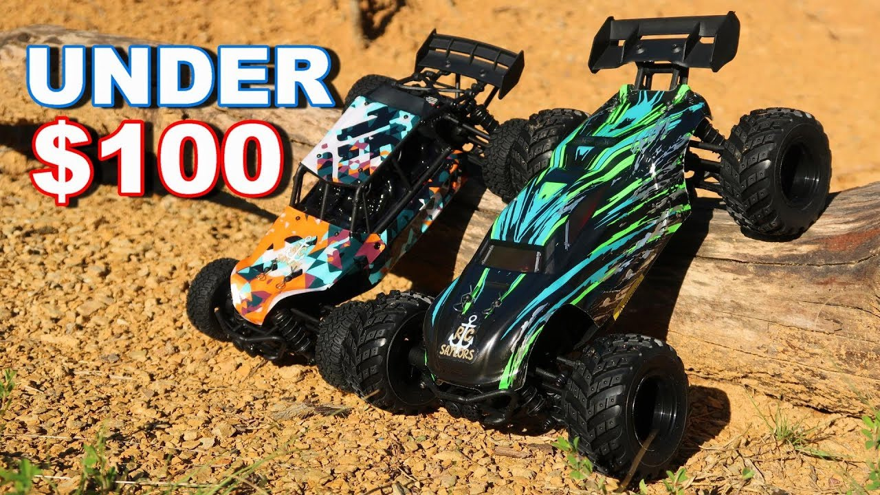 Fast Rc Cars Under 100 On Amazon Haiboxing 4wd Buggy And Truggy Thercsaylors Youtube