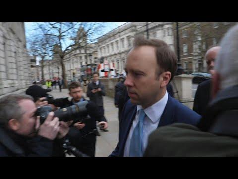 Nouveau coronavirus: réunion de crise du gouvernement britannique | AFP Images