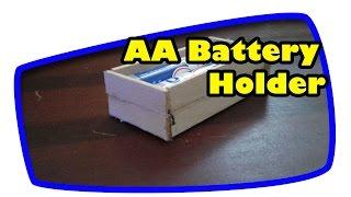 2# Wie man AA-Batterie-Halter zu Hause