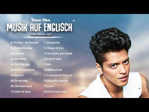 Musik auf Englisch 2021 ✬ Las Mejores Canciones Pop auf Englisch ✬ Canción de portada superior 2021