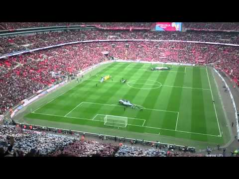 Aston Villa v Liverpool FA Cup Wembley