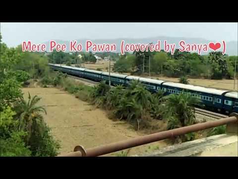 Mere Pee Ko Pawan Kis Gali Le Chale | Sung By Sanya Shree❤ | Tribute to Lata Mangeshkar