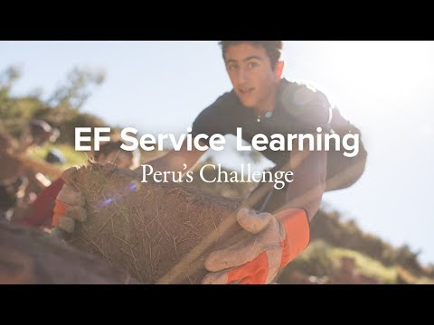 EF Service Learning: Peru's Challenge
