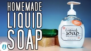 Download Video HOW-TO! An Easy Way To Make Your Homemade Liquid Soap #LifeHack #Hack MP3 3GP MP4