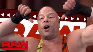 RVD talks peace, love & knockout blows: Raw Exclusive, July 22, 2019
