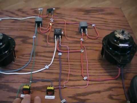 hqdefault series parallel dual cooling fan circuit youtube ford contour electric fan wiring diagram at honlapkeszites.co