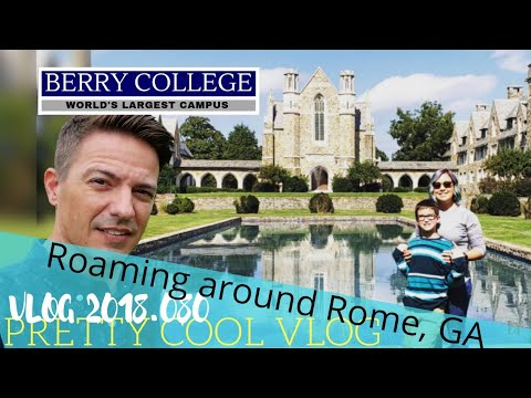 Berry College in Rome, Ga | The Largest College Campus In The World | Vlog 2018.080
