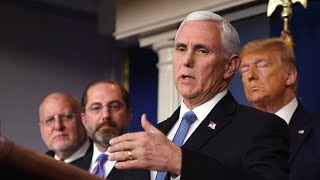 WATCH: Vice President Mike Pence holds US task force meeting on the coronavirus outbreak
