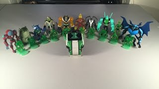 Ben 10 Omniverse - Omnitrix Shuffle Aliens