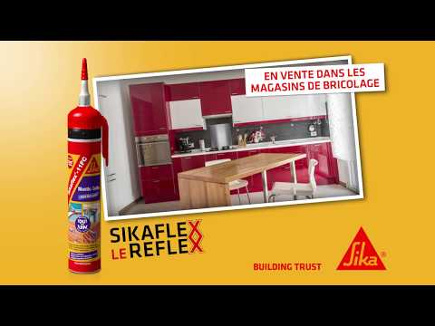 Vidéo Pub TV – SikafleX le Reflex ! Nouveau Sikaflex 11 FC+ Gachette pour les bricoleurs !
