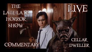 CELLAR DWELLER 1988 MOVIE REVIEW COMMENTARY