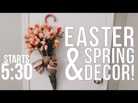 DIY TUTORIAL EASTER EGG TOPIARY TREE & SPRING HOME DECOR