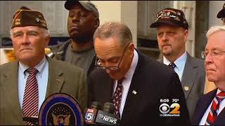 Fondly remembering Chuck Schumer calling for a military parade in 2014