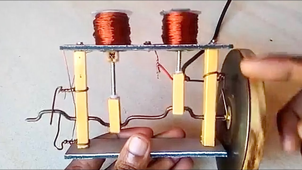 SOLENOID ENGINE TUTORIAL how to make