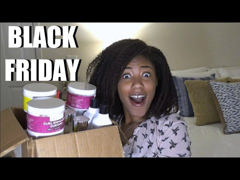 Natural Hair Black Friday Haul | 2019