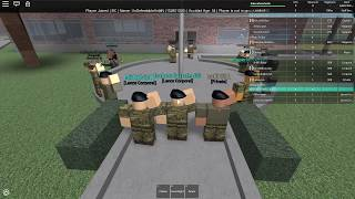 ROBLOX|Tour of British Army!